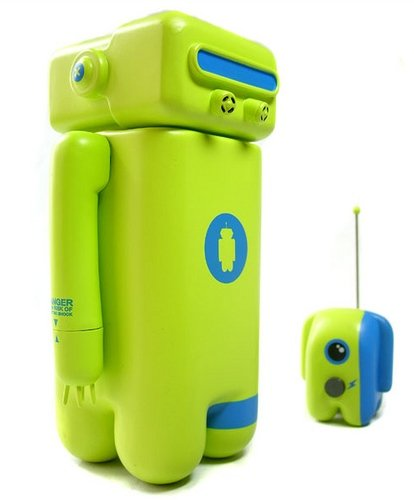 Octopo figure by Unklbrand, produced by Unklbrand. Front view.