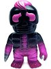 Mini Hone Borg - Clear Pink w/ Black Paint
