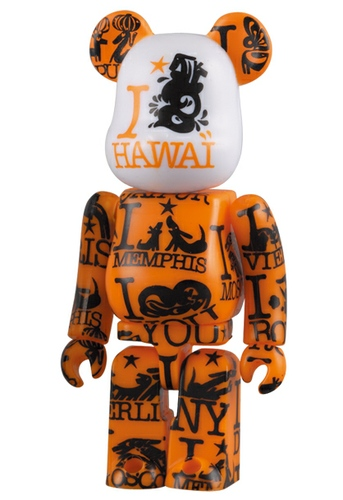 A Round World Be@rbrick - Hawaii