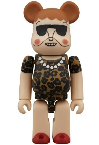 Muveil - Artist Be@rbrick Series 26 figure by Muveil, produced by Medicom Toy. Front view.