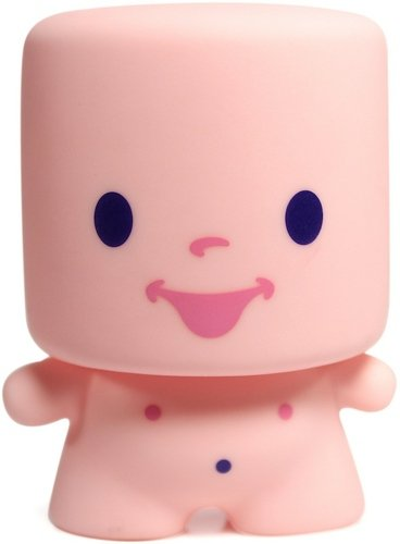 Smell me Marshall - Strawberry scent figure by 64 Colors, produced by Squibbles Ink & Rotofugi. Front view.