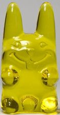 Easter Ungummy Bunny - medium yellow