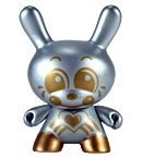 Dae-Dae (Chase)  figure by Sket One, produced by Kidrobot. Front view.