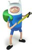 "Adventure Time: 10"" Changing Faces Super Poseable Finn"