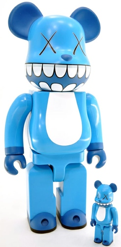 Kaws Chompers Be@rbrick - 400% & 100% Set