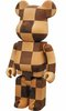 Karimoku Chess Wood Be@rbrick 400%
