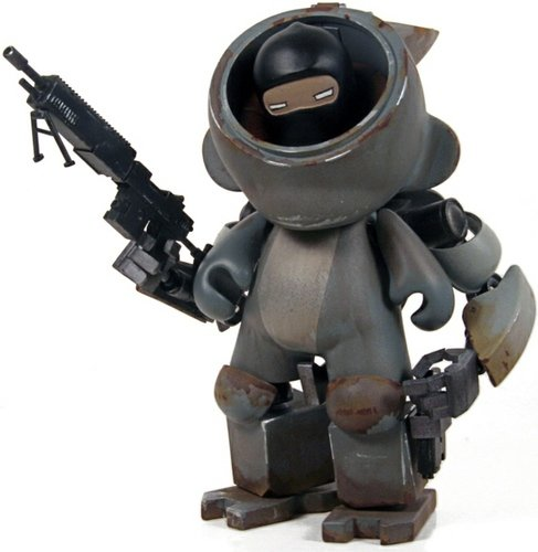 Freelance Militia 2 figure by Rohby. Front view.