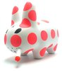 Smorkin' Labbit - Neon Orange Polka Dot