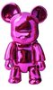 Metallic Bear Qee - Pink