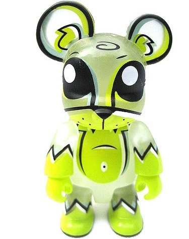 Toxic Swamp figure by Joe Ledbetter, produced by Toy2R. Front view.