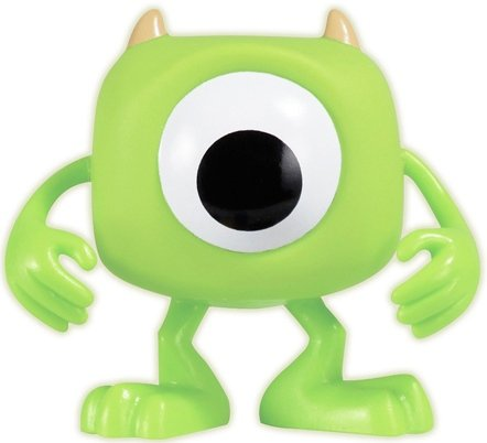 Mike Wazowski - SDCC 2011 figure by Disney, produced by Funko. Front view.
