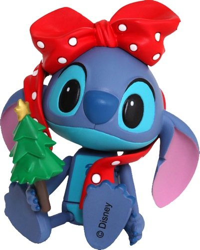 Stitch (Gift Version) figure by Disney, produced by Hot Toys. Front view.
