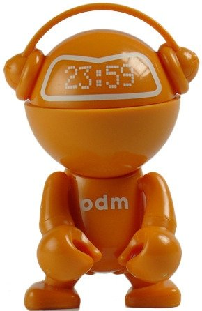 Trexi o.d.m. Orange figure by O.D.M., produced by Play Imaginative. Front view.