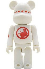 Futura - Secret Artist Be@rbrick Series 5 figure by Futura, produced by Medicom Toy. Front view.