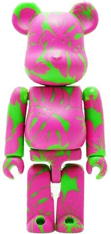 Leilow Hawaii - Secret Be@rbrick Series 11 figure by Jules Gayton, produced by Medicom Toy. Front view.