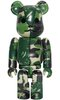 Bape Play Be@rbrick 100% S3 - Green