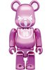 Hysteric Bear Be@rbrick 100% - Metallic Pink