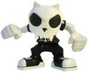 Bobble Head Devil Toyer - White Head Black T-Bone