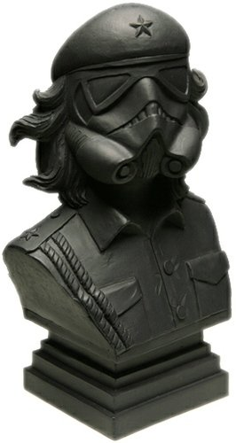 CheTrooper Artist Bust figure by Urban Medium. Front view.
