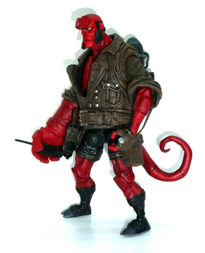 Hellboy with Rocket Pack