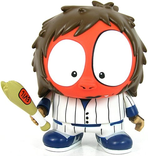 Baseball Fury figure by Mca, produced by Toy2R. Front view.