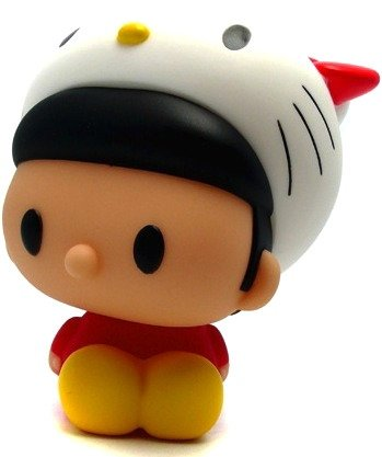 Hello Kitty x Convex figure by Convex, produced by Secret Base. Front view.