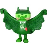 Steven the Bat - Fig Belly figure by Bwana Spoons, produced by Super7. Front view.