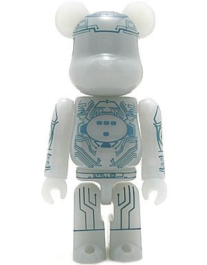 Tron - SF Be@rbrick Series 6 figure, produced by Medicom Toy. Front view.