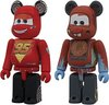 McQueen & Mater Be@rbrick 100% Set