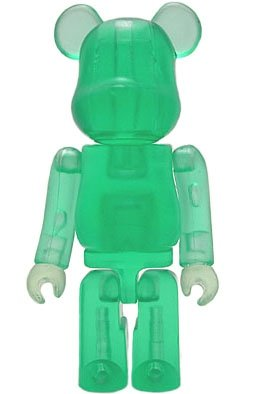 Jellybean Be@rbrick Series 2 figure, produced by Medicom Toy. Front view.