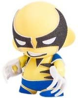 Wolverine Marvel Micro Munny figure by Marvel, produced by Kidrobot. Front view.