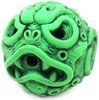 Ooze-Ball Neon Green w/Custom Black Rub