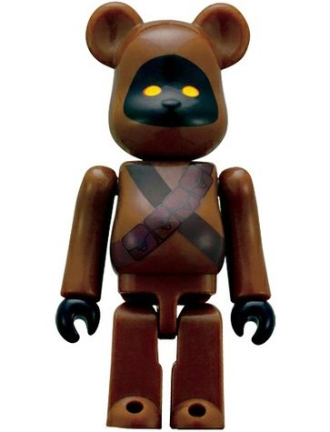 Jawa Be@rbrick 70% figure by Lucasfilm Ltd., produced by Medicom Toy. Front view.