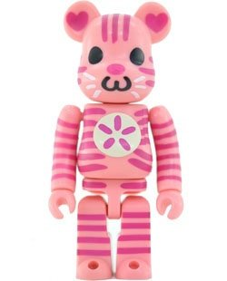 Shokotan - Cute Be@rbrick Series 19 figure by Shokotan, produced by Medicom Toy. Front view.