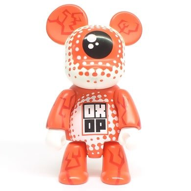 Orange Mistake figure by Haze Xxl, produced by Toy2R. Front view.