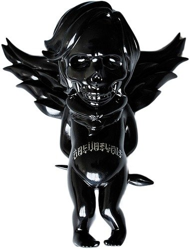 Salvation Ink - Black figure by Usugrow, produced by Secret Base. Front view.