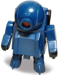 Robot Seven Platoon Cosmo - Monkeyblue figure by Rumble Monsters, produced by Rumble Monsters. Front view.