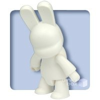 DIY Bunnee Qee figure, produced by Toy2R. Front view.