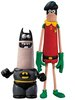 Aardman Batman & Robin Set
