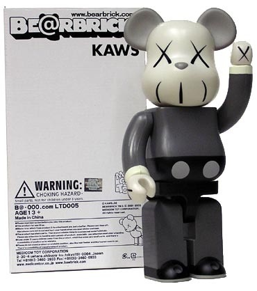 Companion Be@rbrick 400% - Mono
