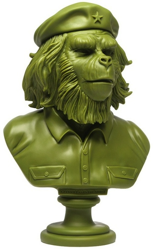 Rebel Ape Bust - Green