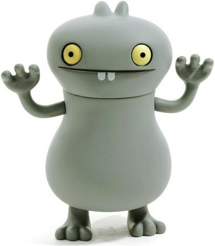 Babo figure by David Horvath, produced by Critterbox. Front view.
