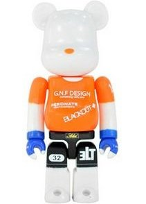 Gallery 1950 - Secret Be@rbrick Series 18 figure by Gallery 1950, produced by Medicom Toy. Front view.