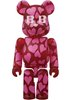 BABBI ♥ Be@rbrick 100% - Cuore Rosso