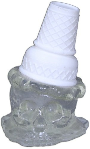 Ice Scream Man - Ice figure by Brutherford, produced by Brutherford Industries. Front view.