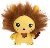 lion figure by Chuckboy, produced by Kidrobot. Front view.