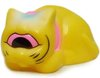 Sleeping Fortune Cat - Yellow