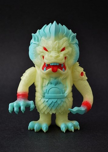Mongolion - SSSS GID figure by LAmour Supreme, produced by Super7. Front view.