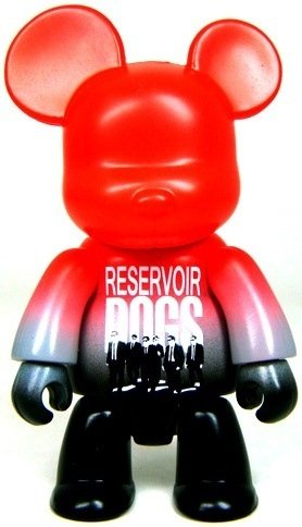 Reservoir Dogs Qee figure by Toy2R, produced by Toy2R. Front view.