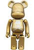 Chrome Gold Be@rbrick 200%